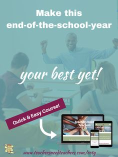Ending your school year on a high note JUST GOT EASIER! Join the challenge! Begin planning and preparing for the end of the school year so that you won't feel frustrated or overwhelmed! end of the year Teaching Methods, Teaching Strategies, Teaching Resources, Teaching Ideas, Teaching Philosophy, Philosophy Of Education, First Year Teaching, Teaching Schools, Teacher Lesson Plans