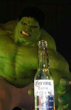 hulk need beer!