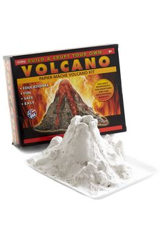 I Feel So A-Lava Volcano Kit. Spice up a plan-free day with this at-home experiment! #multi #modcloth