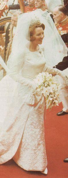 10 maart 1966. Huwelijk van Beatrix en Claus