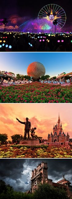 These gorgeous photos from Disneyland, Disney World, and other Disney Parks will make you want to throw your Mickey ears in a suitcase right this second and hop on a plane to the Magic Kingdom. Walt Disney World, Disney World Vacation, Disney Vacations, Disney Trips, Disney Parks, Disney Pixar, Disney Worlds, Disney Couples, Disney Dream