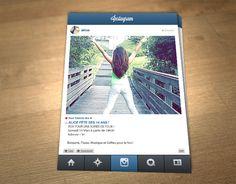 Invitation personnalisable pour anniversaire : thème instagram : Autres papeterie par emilie-party