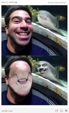 Not a lot of face swaps can make me laugh. Funny Animal Memes, Stupid Funny Memes, Funny Relatable Memes, The Funny, Funny Animals, Funny Life, Funny Stuff, Funny Math, Memes Funny Faces