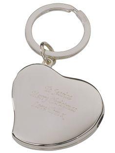 Personalised Heart Photo Keyring | very.co.uk