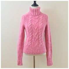 Pink Express Wool/Cashmere Blend Sweater Pink Express sweater in a very soft wool/cashmere knit! Size medium. NWOT. Never been worn and in perfect condition! Express Sweaters