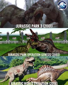 Jurassic Park Trilogy, Jurassic Park World, Jurassic World Characters, Mundo Nerd, Falling Kingdoms, Dinosaur Art, Prehistoric Creatures, Warm Fuzzies, Tyrannosaurus