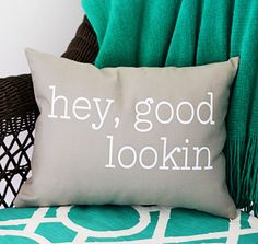Iron-On Vinyl - Quote Pillow | Happy Crafters