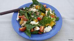 Flavours of Amellia: Římský salát s pomerančem a mozzarrelou