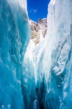 Eiger Glacier crevasse