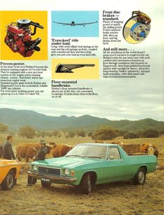 Holden HX Ute Brochure Page 3 Holden Australia, Pickup Car, Australian Cars, Stopping Power, General Motors, Vintage Advertisements, Cars And Motorcycles, Muscle Cars, Car Crafts