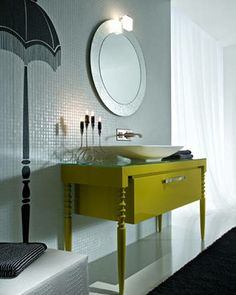 25 best round mirrors in bathrooms images round mirrors bathroom rh pinterest com