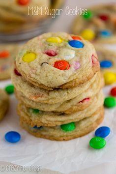 M&M Sugar Cookies -