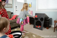 Mickey Mouse ball toss party game — lansdownelife.com