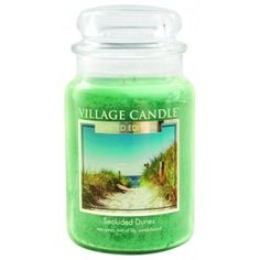 Village Candle Limited Edition Large Jar - Secluded Dunes