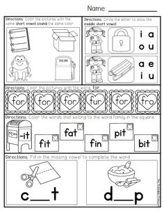Homework: Kindergarten February Packet (Differentiated