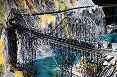 Train Bridge. Panasonic Lumix DMC-GH3, Panasonic Lumix G Vario 35-100mm f/2.8. © Jim Fisher