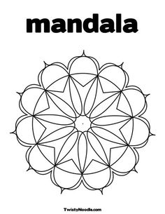 Mandala coloring page that you can personalize.