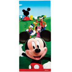 Mickey Mouse Clubhouse Party Favor Bags - 16 ct