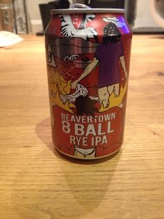 Beavertown Eight Ball American Rye IPA 6.2%, Tottenham Hale, London, Provided by BeerBods