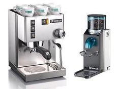 Silvia New V3 and Rocky NO DOSER Coffee grinder - Rancilio Line of machines for caffe 'espresso and coffee grinders suitable for domestic or semi-pro.