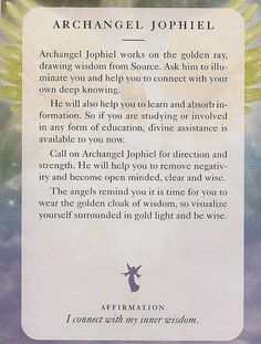 Discovered by JacquelineJGarner. Find images and videos about angel, celebration and affirmations on We Heart It - the app to get lost in what you love. Tarot, Spiritual Guidance, Spiritual Awakening, Angel Guidance, Mantra, Chakras, Archangel Jophiel, Angel Cards, We Are The World