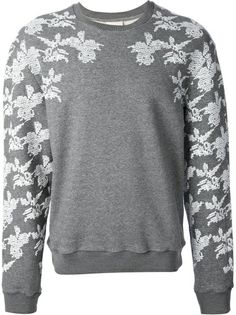 WOOYOUNGMI Floral Detail Sweatshirt