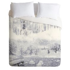 Belle13 Snow Queen Duvet Cover