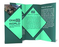 Brochure design _ photoshop designs