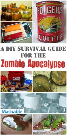 Don't be fooled by what the news, the government and basic human logic tells you. The zombie apocalypse is upon us, and you have to be prepared.
