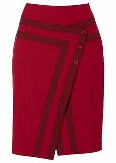 Patrón de falda sobre - Patrones gratis