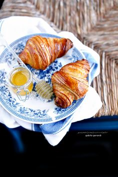 Croissant sfogliati integrali al miele - Integral Croissant with honey