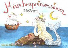 Malbuch Märchen Prinzessin