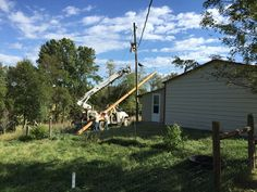 💡 Today our local power company replacing the old wooden pole 👍 next to the rabbit house with a new one so hopefully we will get electricity 🔌 to our soap room soon. 💡  #today #replacing #oldpole #woodenpole #progress #update #old #construction #outside #power #electricity #electric #electrical #pole #wooden #wood #utility #work #working #picoftheday #pictures #bestoftheday #pictureoftheday #pickoftheday #picofday #picoftheweek #photooftheday #photodaily #picoftheweek #todays