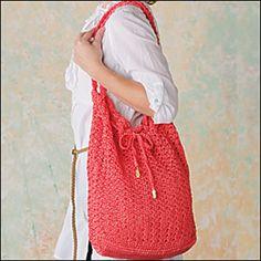 Ravelry: Double Parquet Nylon Tote pattern by Annette Stewart. Crochet! Magazine: March 2011.