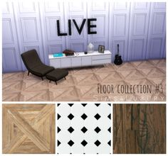 Floor collection #3 at Sims4 Luxury via Sims 4 Updates