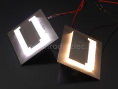 A gyártók sokféle lámpatestet gyártanak, ezért van lehetőségünk (és kell is) dönteni, hogy egy lépcsőlámpa hidegfehér vagy melegfehér fénnyel világítson!