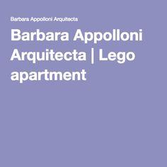 Barbara Appolloni Arquitecta | Lego apartment