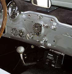 Mercedes-Benz 300 SL interior