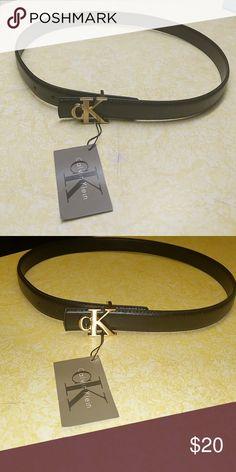 """Calvin Klein woman's belt size X small waist 27"""" Calvin Klein black woman's belt XS waist 27"""" Calvin Klein Accessories Belts"""