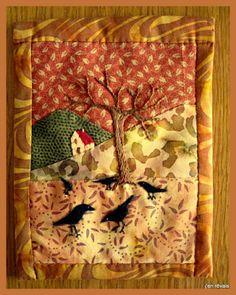 Au fil des mois - novembre (d'après scrap, quilt and stitch)