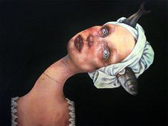 Surreal Portraits Of Women Painted By An Iranian Artist | Bored Panda