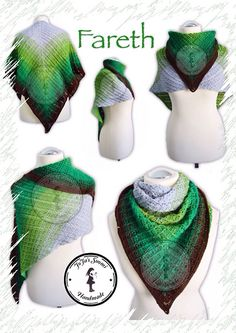 Fareth - free German crochet pattern with chart by Jasmin Räsänen. English pattern will follow very soon.