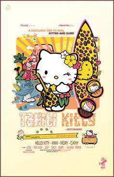 Hello Kitty Art, Hello Kitty Birthday, Sanrio Hello Kitty, Hello Hello, Kitty Kitty, Tahiti, Hello Kitty Pictures, Hello Kitty Wallpaper, Hello Kitty Backgrounds