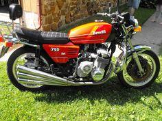 Ferro Velho Motos Antigas : Benelli 750 Sei