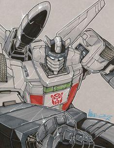 """Wheeljack"" Transformers by http://markerguru.deviantart.com/art/wheeljack-130287941?q=gallery%3Amarkerguru%2F6117825=4"