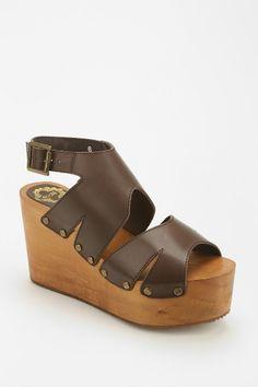 Ecote Jolene Cutout Boho Platform Sandal