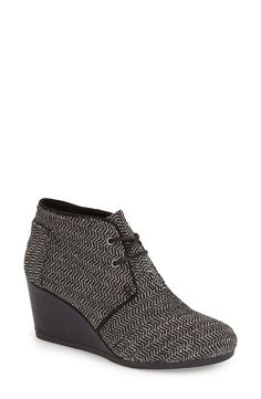a0a9c3d301f size 8    TOMS  Desert  Wedge Bootie (Women) available at