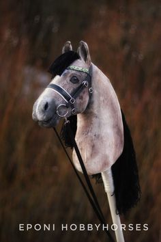 The most beautiful hobbyhorses come from Finland! Eponi hobbyhorses are realistic, premium-quality Finnish handcrafts. Come and find your Soulhorse! Hobby Horse, Finland, Most Beautiful, Horses, Animals, Club, Ideas, Decor, Animales