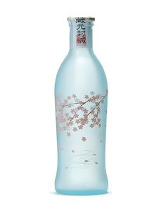 sake design bottle | Sake Bottle / 招春 春の舞 - 招徳酒造 | Packaging | Pinterest
