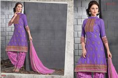 Sharmili #Salwars #Silk #Cotton #Shopping #Ladieswear #Fashion #trend #Indianwear #Purple Code: Shm 05 Price: Rs.2699 Fabric: Silk Cotton Size: 40 For bookings Call/Whatsapp +91 9943471237
